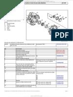 Material Desmontaje Montaje Cubo Una Rueda Delantera Camion Mercedes Benz Actros Componentes Procedimiento
