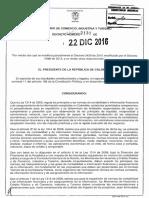 Decreto 2131 Del 22 de Diciembre de 2016