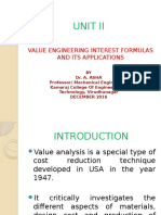 Unit II Value Engg