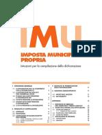 Dichiarazione IMU - Istruzioni
