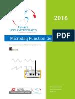 Function Generator MICORDAQ