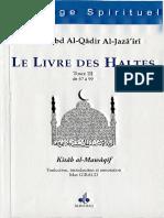 'Abd Al-Qâdir al-Jazâ'irî, Livre Des Haltes Tome 3 - trad. Max Giraud
