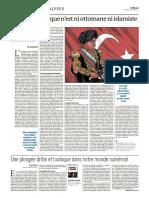 Olivier Roy La Politique Turque n'Est Ni Ottomane Ni Islamiste - Le Monde 2016 12 28