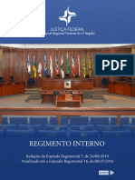 Regimento Interno TRF 1