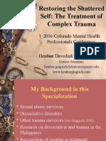 PP-2016 Colorado Mental Health Professionals Conference
