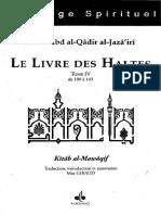 'Abd Al-Qâdir al-Jazâ'irî, Livre Des Haltes Tome 4 - trad. Max Giraud
