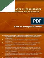 Identific. Ierarhizarea- g.zanoschi