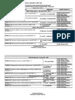 Program Masterat Anul I Pe Module Si Cadre Didactice