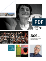 Agenda Cultural de Janeiro 2017