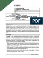 Programa Asignatura Tiempo Libre _Cardenal Cisneros