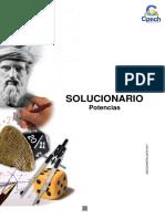 Solucionario Guía Práctica Potencias 2013