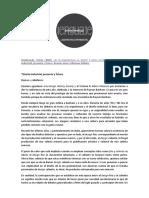 Desmaterialización, MALDONADO