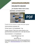 Materiais Ferramentas e Adesivo