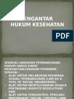 Pengantar Hukum Kesehatan