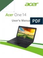 UM Acer One Z1402 en Win8.1 v1