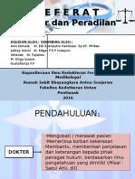 Dokter Dan Peradilan (Slide)