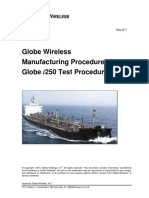 MP061-Globe i250 Test Procedures (Rev.B)