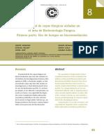Potencial de cepas fúngicas aisladas en el área de Biotecnología Fúngica. Primera parte