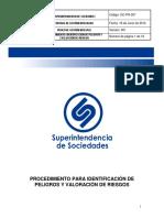 GC-PR-007 Identificacion de Peligros y Evaluacion de Riesgos de SySO