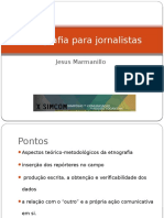 Etnografia Para Jornalistas