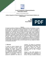 Análise Integrada do Sistema Propulsivo e do Comportamento Dinâmico de embarcações