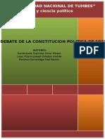 Trabajo de Constitucion Politica de 1933