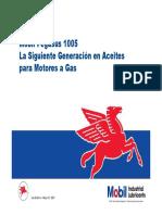 Aceite para gas - Mobil Pegasus 1005