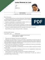Fagner Moreira - CV Atualizado