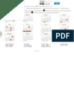 Kalender Lengkap Indonesia Tahun 2017