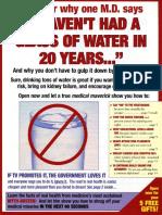 Glass of Water - Swipe File