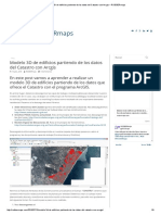 Modelo 3D de Edificios Partiendo de Los Datos Del Catastro Con Arcgis – RODBERmaps