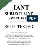 Swipe File Mass