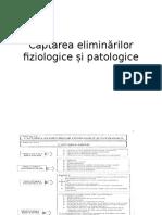Captarea Eliminarilor Fiz Si Patologice Din Proceduri
