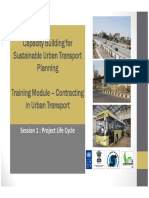 Presentation Contracting Urban Transport ( copy taken from the internet)