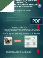 Proceso Metalurgico Del Niquel