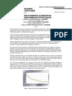 Modelos Hibrido (Paneles FV-Biomasa)