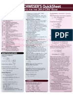 CFA Level 2 - QuickSheet.pdf