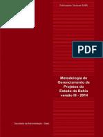 Mgpe - Manual de Gerenciamento de Projeto Do Estado Da Bahia 2014