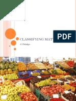 Classifying Matter Ats2020