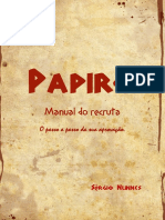 Papiro Manual Do Recruta
