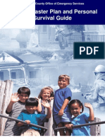 San Diego - Family Disaster Plan and Personal Survival Guide
