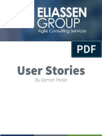 Damon Poole User Stories