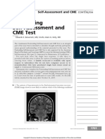 Postreading Self Assessment and CME Test.25