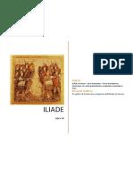ILIADE di Omero - Libro dodicesimo - Prove di traduzione interlineare con note grammaticali e vocabolario essenziale in linea