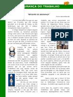 DDS - Reflexão de Segurança - 03287 [ E 1 ]