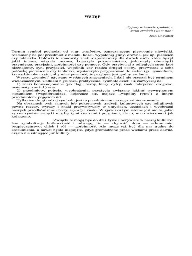 Kopaliński Władysław Słownik Symboli