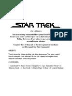StarTrekTheGame Rules