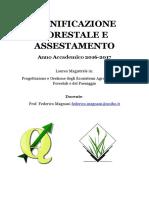 Pianificazione Forestale Aa2016-17
