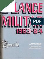Revista Balance Militar