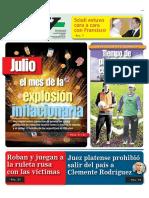 Explosión Inflacionaria Del Kirchnerismo de Julio Del 2013